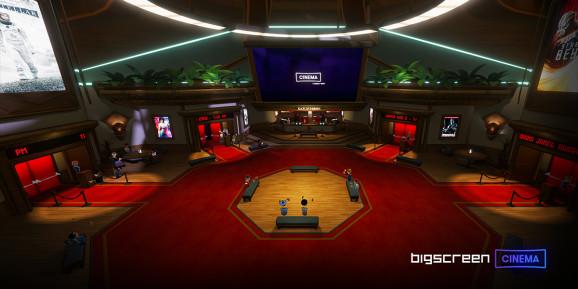 Bigscreen and Paramount are bringing movies to VR.
