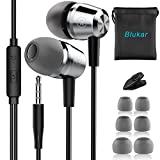 In-Ear Kopfhörer, Blukar Geräuschdämmende Ohrhörer Kopfhörer Stereo und...