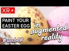 Paint Easter eggs in augmented reality | WebAR