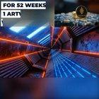 WeeklyNFT (Crypto Art w/AR)