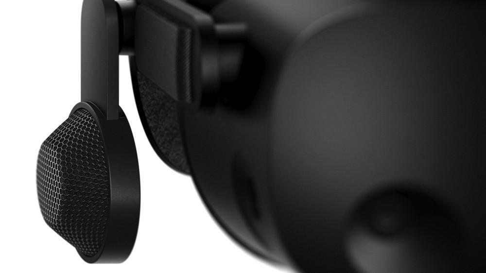 HP Reverb G2 mit Ohrhörern der Valve Index VR-Brille