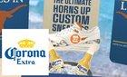 Corona Extra Custom Sneaker experience using WebAR
