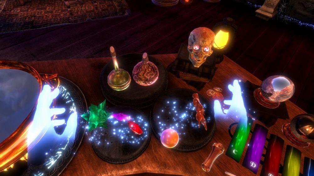 Zauberertisch in Waltz of the Wizard