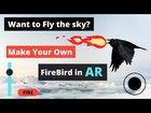 Enhanced AR App using Joystick and Slider   Unity AR Game   Flying Bird in AR   Control Bird in app