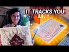 A Working, Real-Life Marauder's Map built with AR! And it actually tracks people!